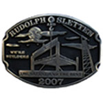 Rudolph and Sletten starts Belt Buckle program