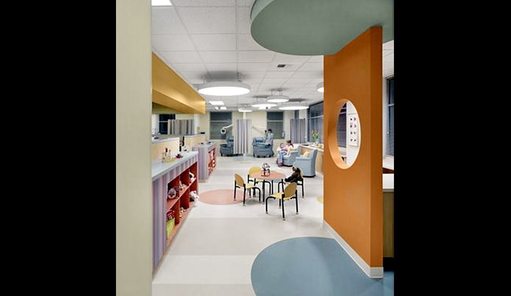 Interior Stone Veneer >> Kaiser, Roseville Medical Office Building
