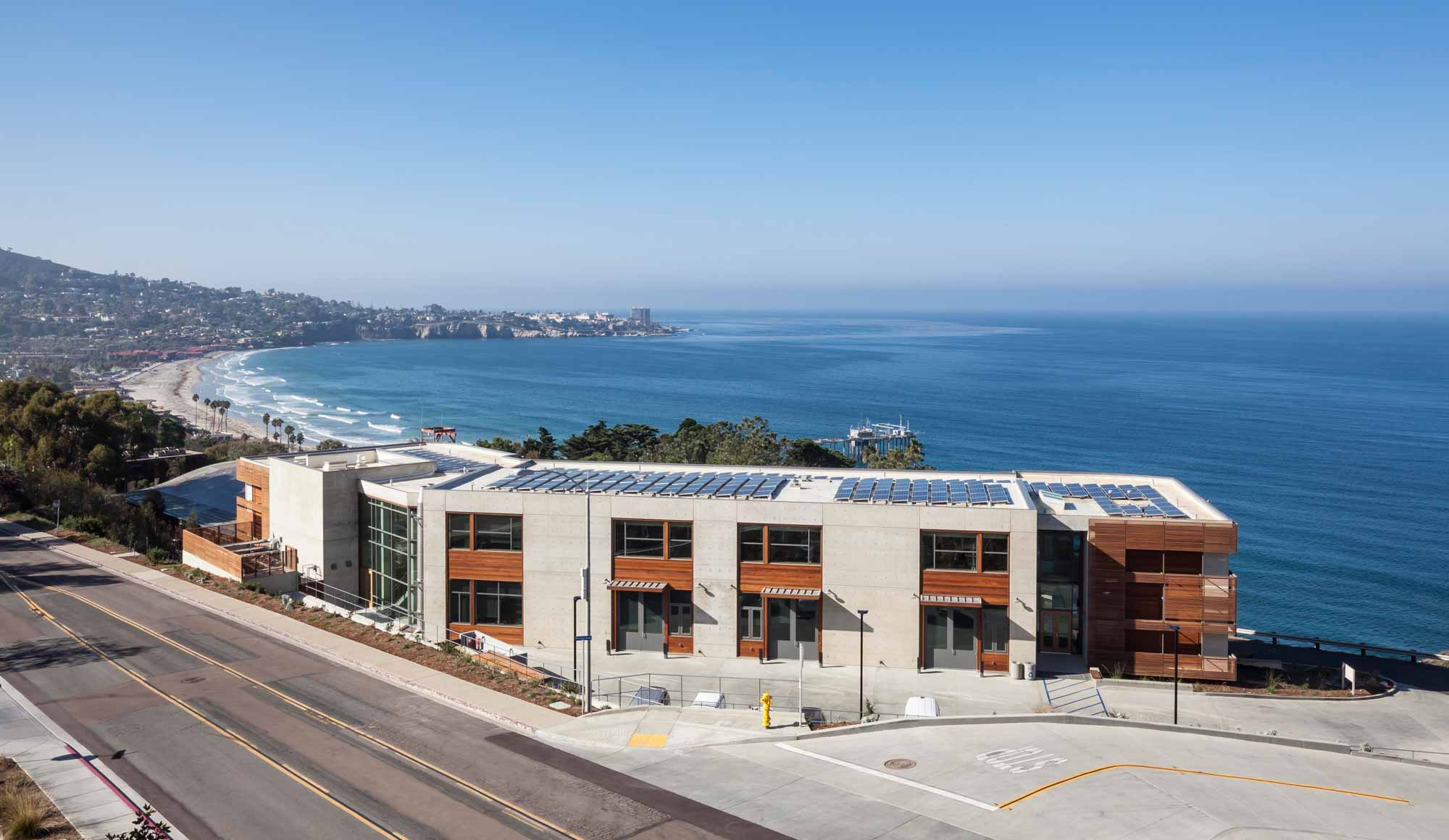 Scripps Institution of Oceanography, MESOM Research Laboratory Facility