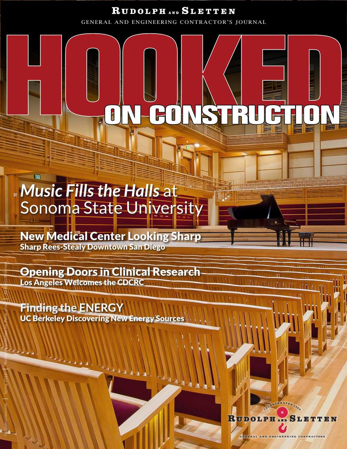 Hooked on Construction - Spring 2013