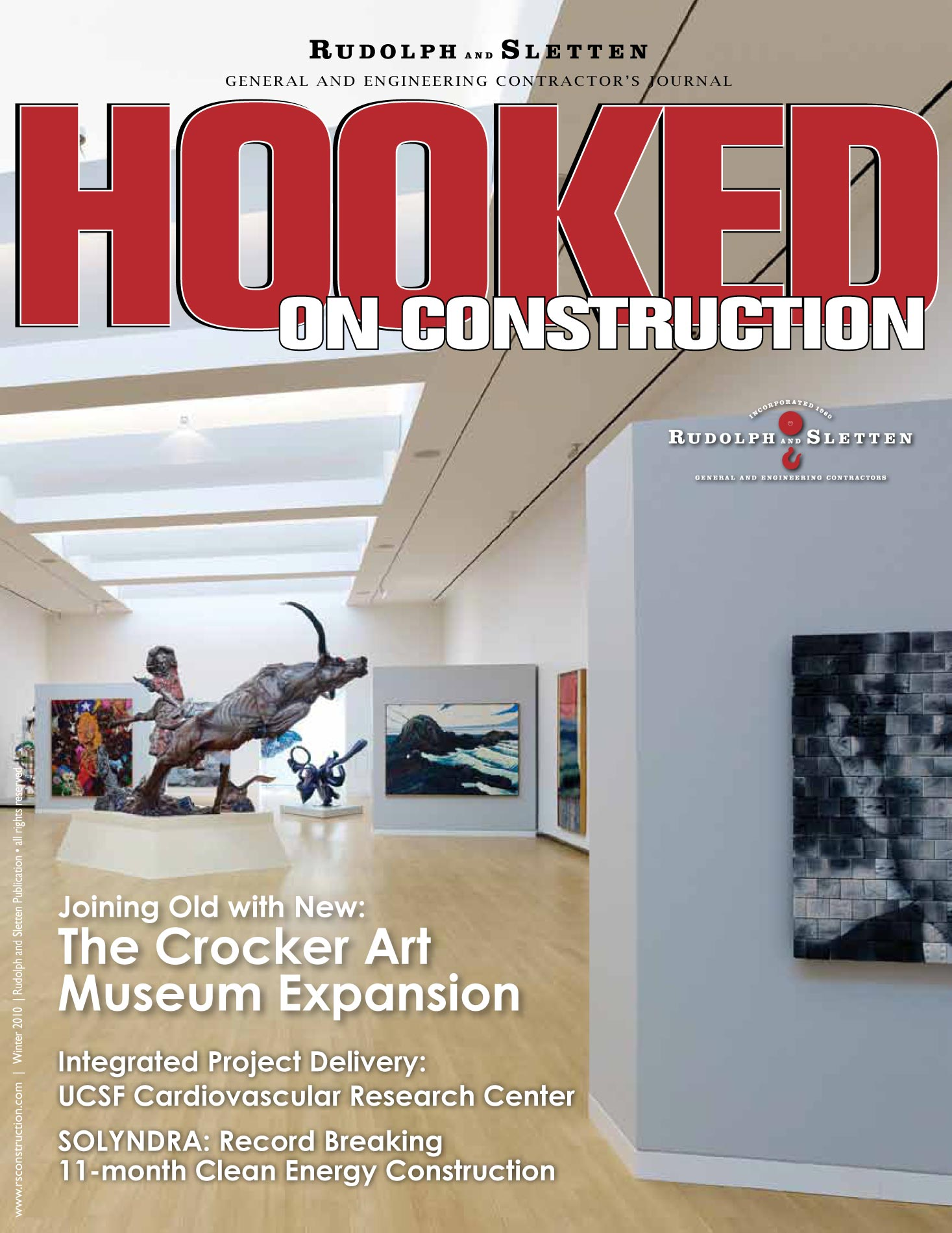 Hooked on Construction - Winter 2010