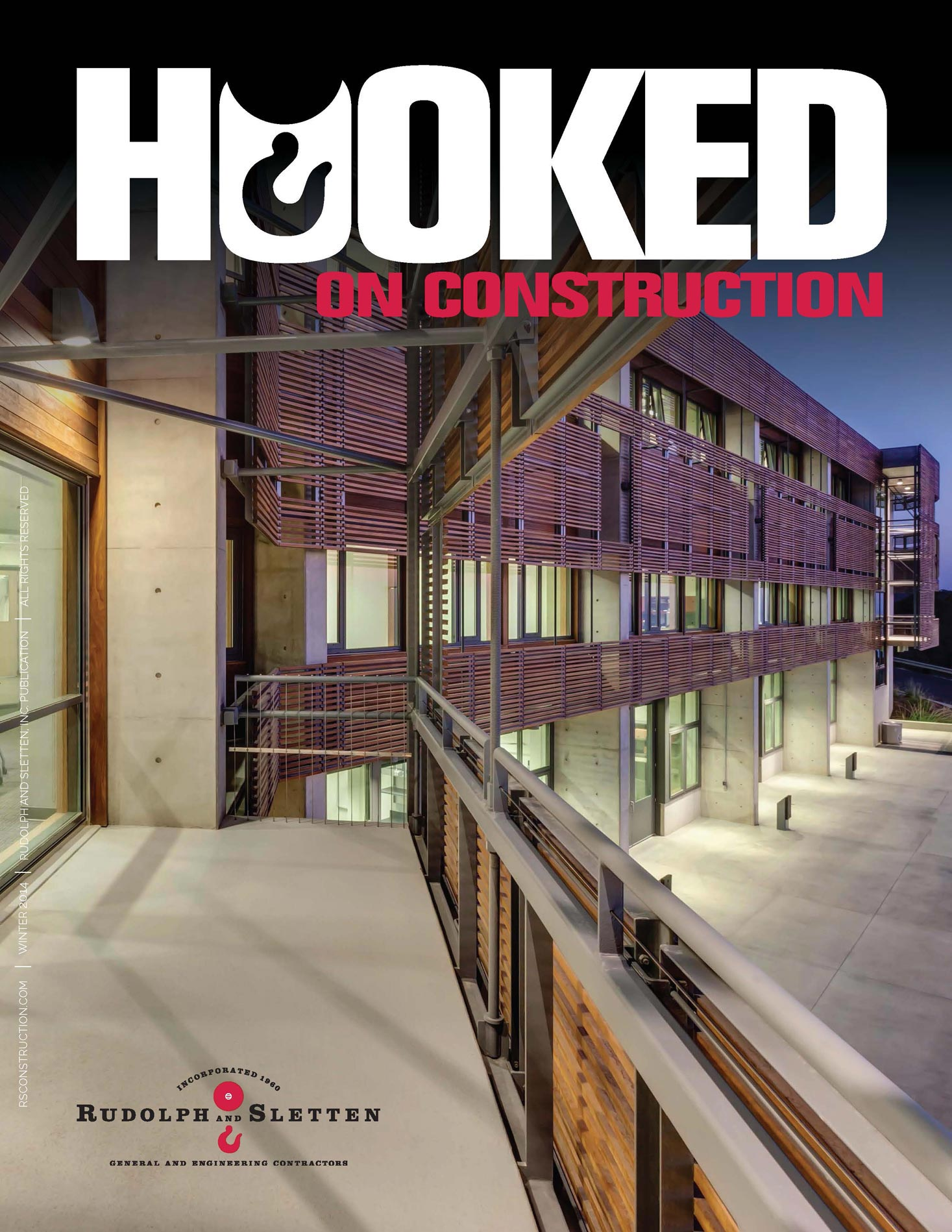 Hooked on Construction - Winter 2013