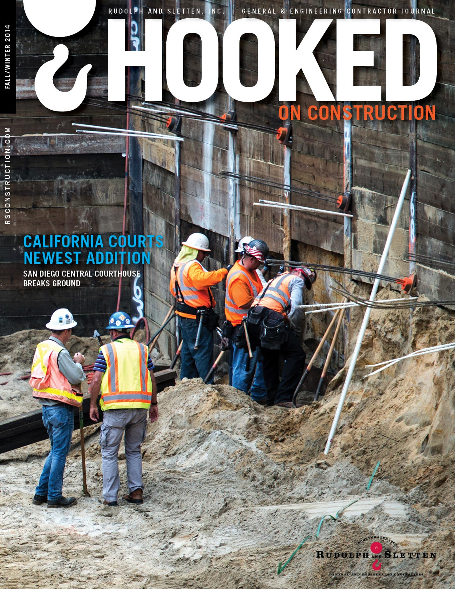 Hooked On Construction - Winter 2014