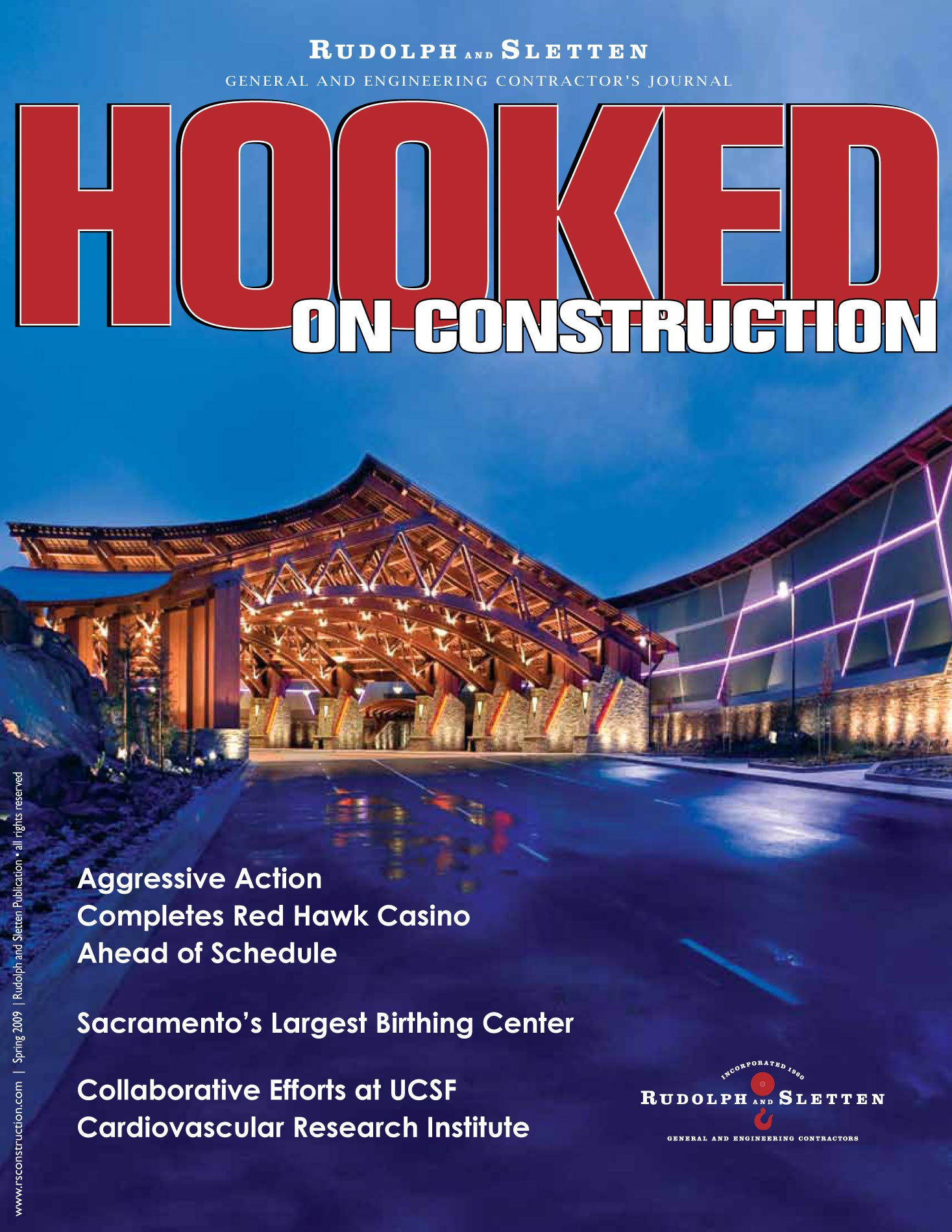 Hooked on Construction - Summer 2009