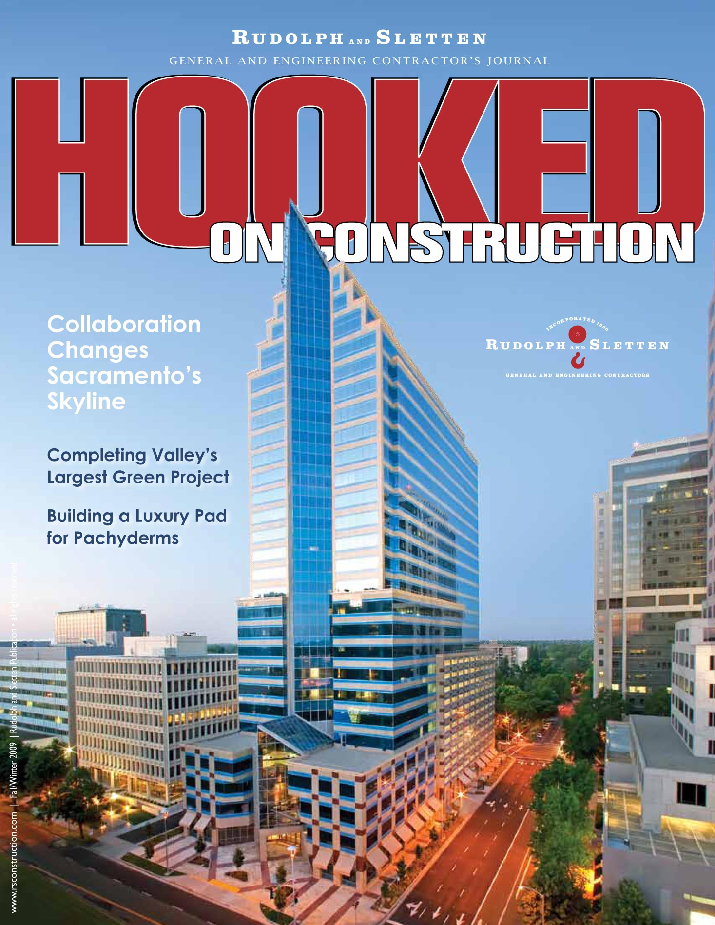 Hooked on Construction - Winter 2009