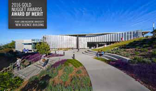 PLNU Science Building 2016 Gold Nugget Merit Award recipient