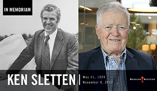 R&S co-founder Ken Sletten Remembered