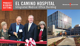 A Ribbon Cutting at El Camino Health's new Integrated Medical Office Building